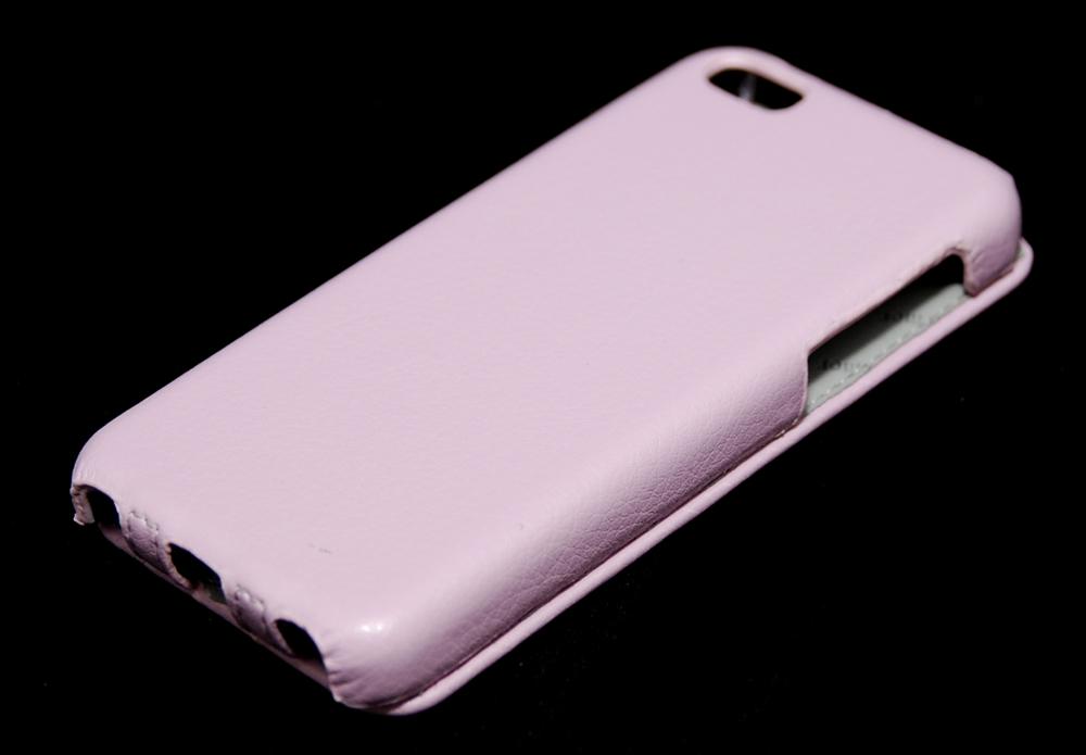 Чехол флип-кейс Armor для Apple iPhone 5C розовый
