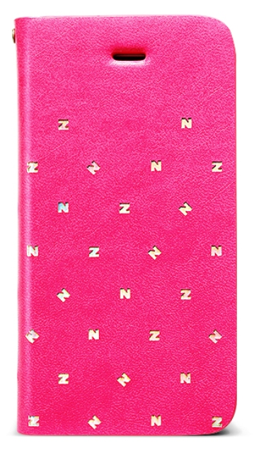 Чехол книжка Zenus Z Brogue Diary для Apple iPhone 5C розовый