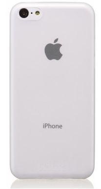 Чехол клип-кейс тонкий Fliku Slim Case для iPhone 5с прозрачный