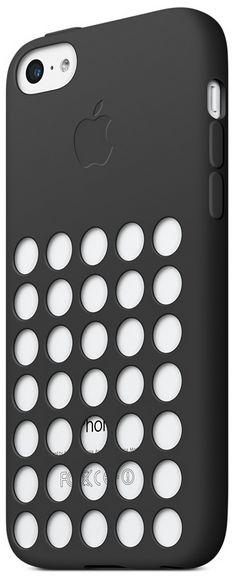 Чехол Apple iPhone 5c Case MF040ZM/A Черный