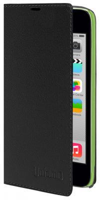 Чехол книжка Untamo Accento Case для iPhone 5С черный