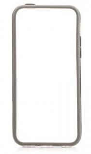 Бампер X-Doria NEW Bump PC/TRU (Item:3130502905) для iPhone 5C серый