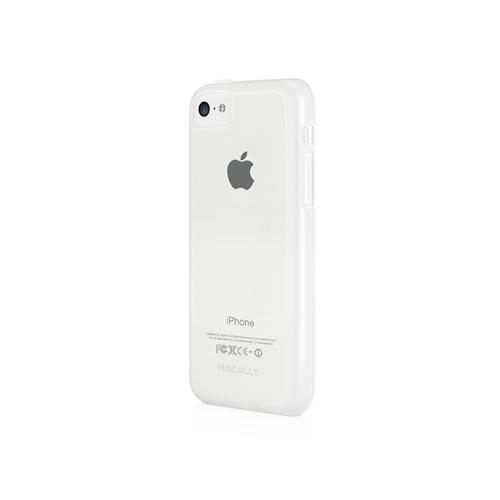 Чехол клип-кейс Macally FLEXIBLE Protective Case (FLEXFITP6-C) для iPhone 5C прозрачный