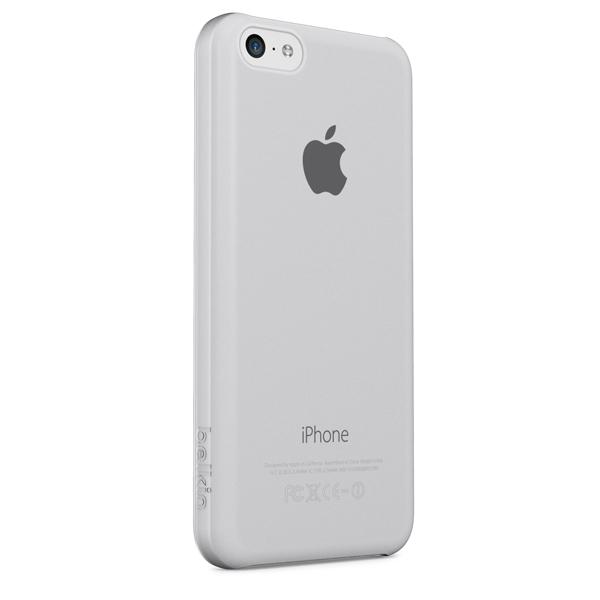Клип-кейс Belkin Micra Sheer Matte для iPhone 5С  (F8W395B1C04) прозрачный