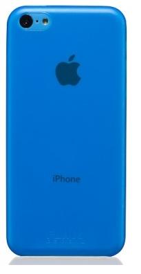 Чехол клип-кейс Ultra Fliku Slim Case 0,3мм (FLK900324) для iPhone 5C голубой