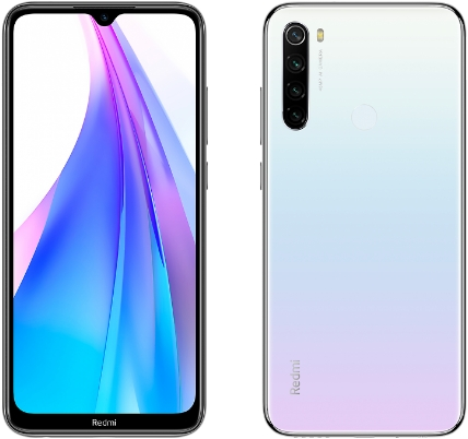 Xiaomi Redmi Note 8T 4/128Gb White (белый)