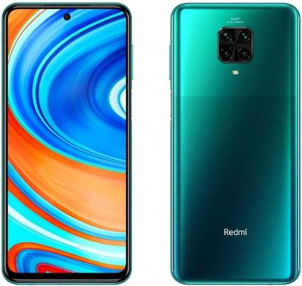 Xiaomi Redmi Note 9 Pro 6/64 Tropical Green (зеленые тропики)