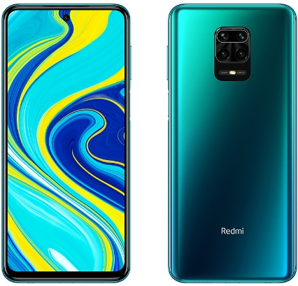 Xiaomi Redmi Note 9S 4/64GB Aurora Blue (синий) 2020