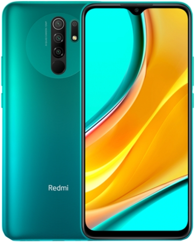 Xiaomi Redmi 9 4/64Gb Ocean Green (зеленый)