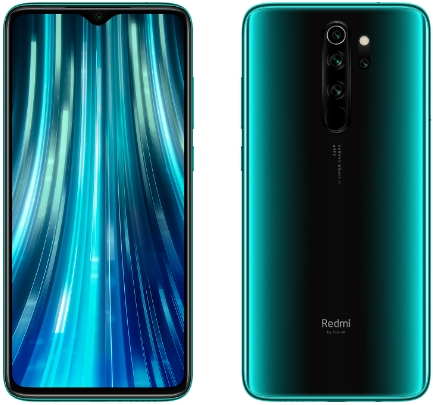 Xiaomi Redmi Note 8 Pro 6/64GB Forest Green (зеленый)