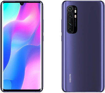 Xiaomi Note 10 Lite 6/64Gb Nebula Purple (фиолетовый)