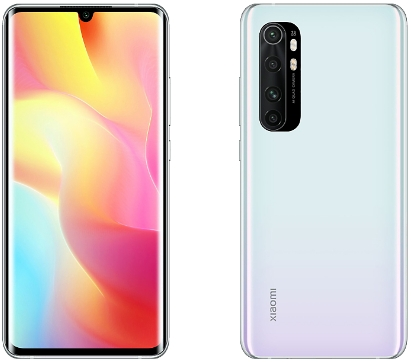 Xiaomi Note 10 Lite 6/128Gb Glacier White (белый)