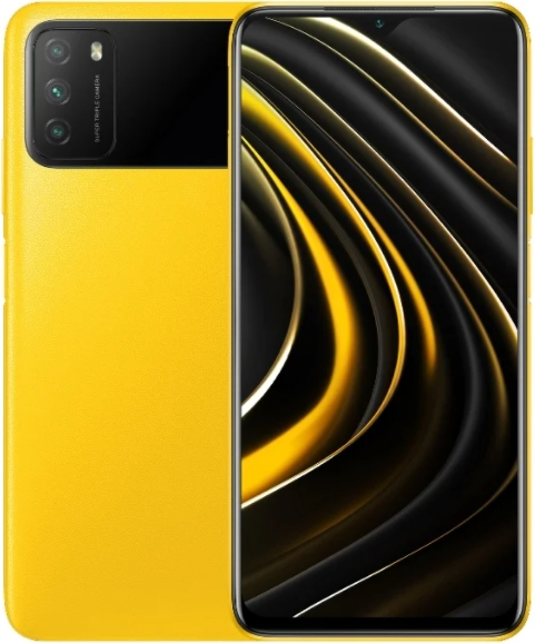 Xiaomi Poco M3 4/128GB Yellow (Желтый)