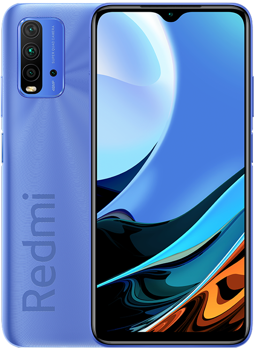 Xiaomi Redmi 9T 4/128 Gb Twilight blue (синие сумерки)