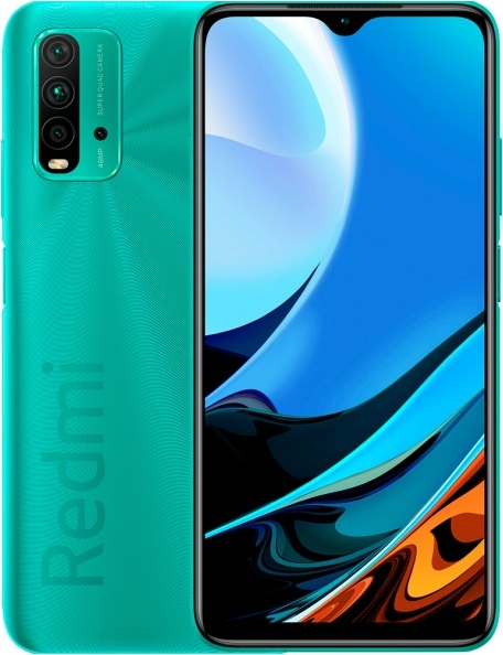 Xiaomi Redmi 9T 4/64Gb Ocean green (морская волна)