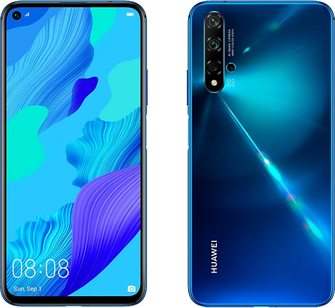 Huawei nova 5T 6/128GB Crush Blue (синий) 2019