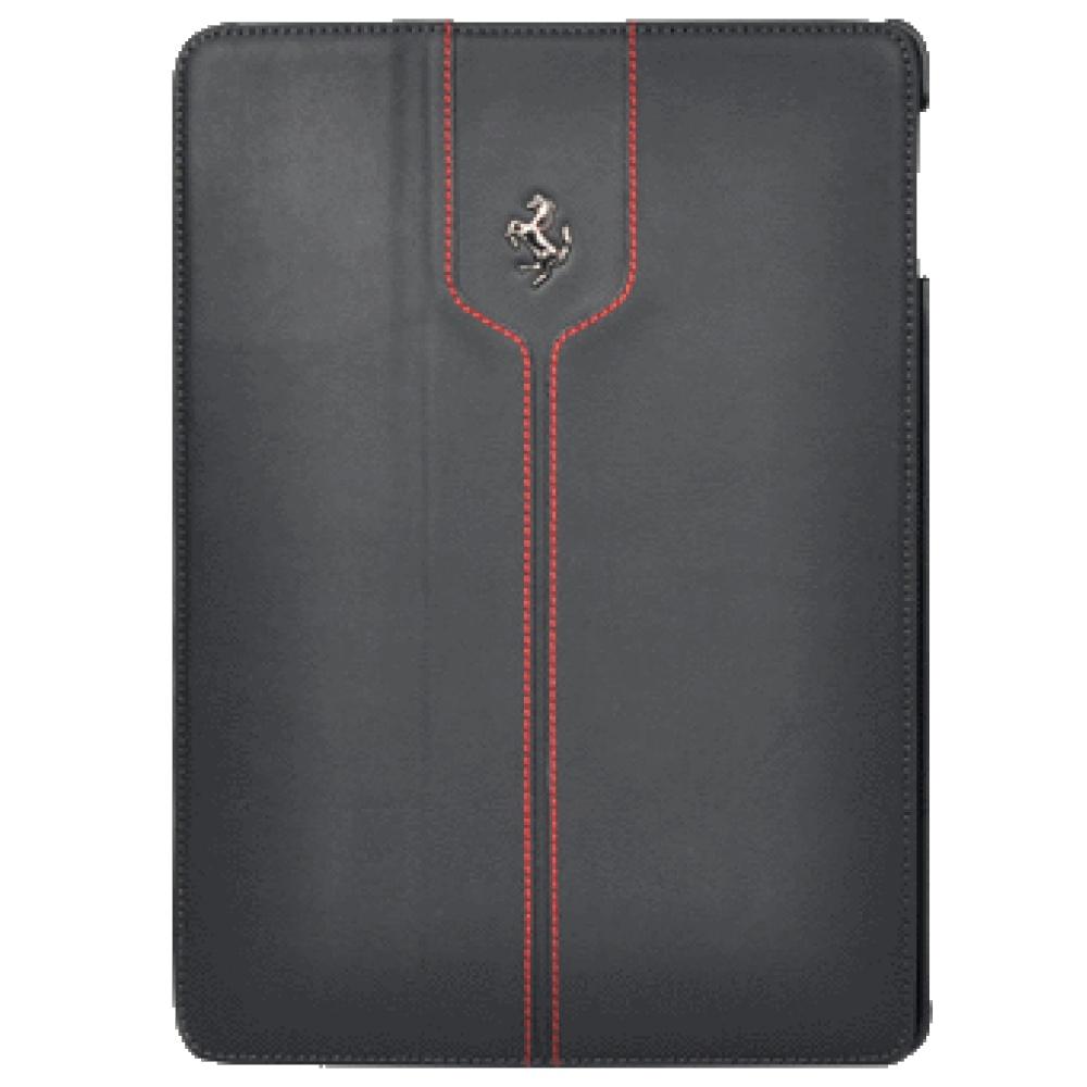 Чехол книжка Ferrari Black Montecarlo FEMTFCD5BL для iPad Air (черный)