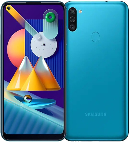 Samsung Galaxy M11 3/32Gb Blue (бирюзовый)