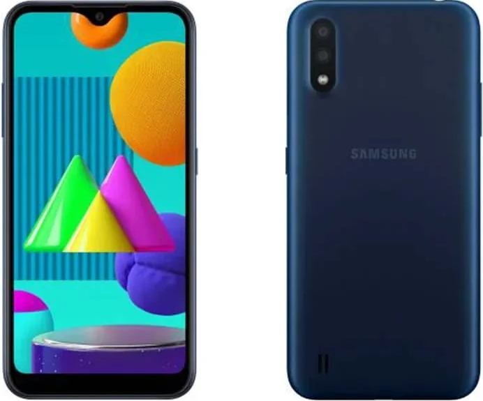 Samsung Galaxy M01 3/32Gb Blue (синий)