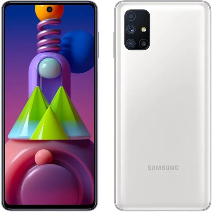 Samsung Galaxy M51 6/128Gb White (белый)