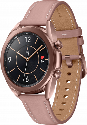 Часы Samsung Galaxy Watch3 41мм бронзовый