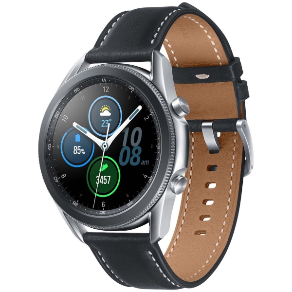 Часы Samsung Galaxy Watch3 45мм серебристый