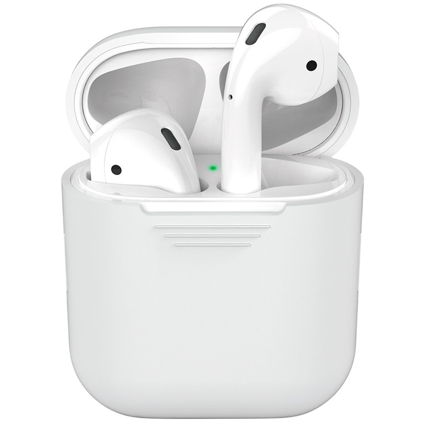 Чехол Deppa для Apple AirPods 47001 (прозрачный)
