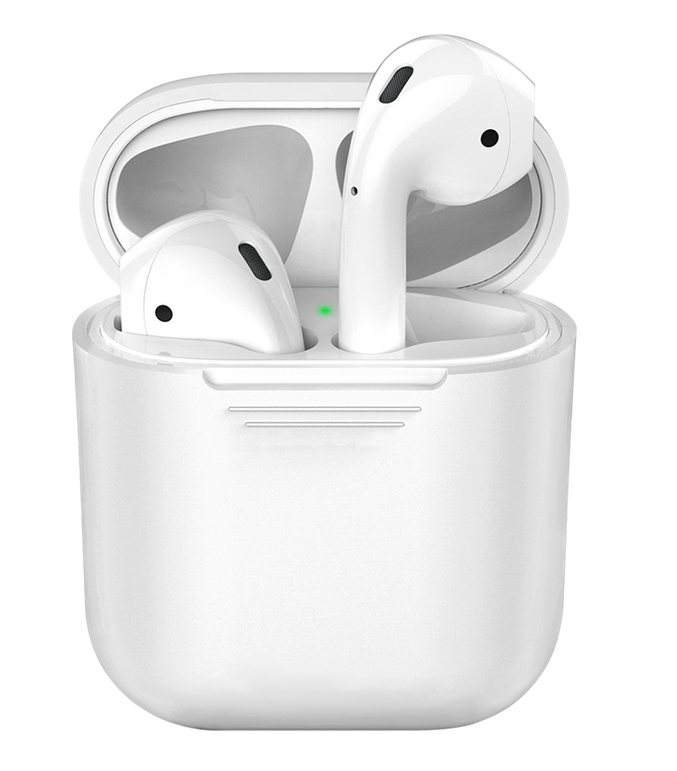 Чехол Deppa для Apple AirPods 47009 (белый)