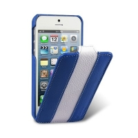 Чехол для iPhone 5/5S Melkco Leather Case Limited Edition Jacka Type (Blue/White LC)