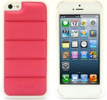 Чехол клип-кейс Padding Case для iPhone 5/5S  ifs-A200 красный