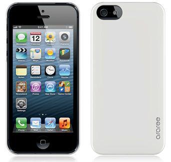 Чехол Araree half для iPhone 5 белый
