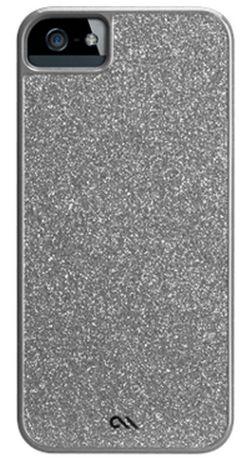 Чехол клип-кейс CASE-MATE Glam CM022460 для iPhone 5/5S серебро