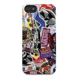 Чехол клип-кейс Vans Sticker Collage для iPhone 5S