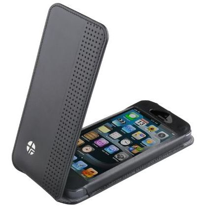 Чехол флип-кейс Trexta Sleek для iPhone 5/5S черный