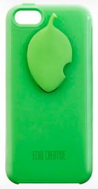 Чехол Pittorne X со стилусом зеленый для iPhone 5/5S