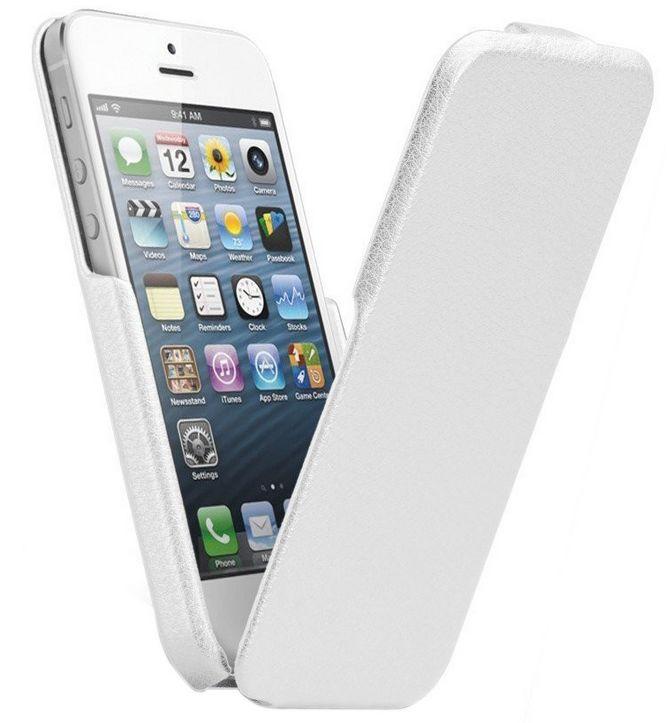 Чехол флип-кейс CaseMate Signature Flip (CM022840) для iPhone 5/5S белый