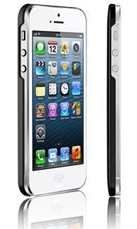 Чехол Araree half для iPhone 5 черный