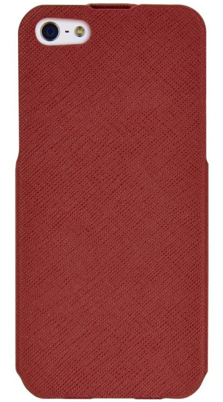 Чехол флип-кейс Luxa2 для iPhone 5/5S красный