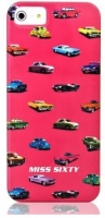 Чехол клип-кейс Replay Miss Sixty Pop Art-Cars (M3013-I5BPK) для iPhone 5/5S