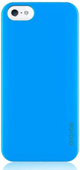 Чехол клип-кейс Araree Half для iPhone 5/5s голубой