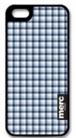 Чехол клип-кейс MERC Fabric (A-P50HF-F03007) для Apple iPhone 5/5S Chek-Blue and Cream