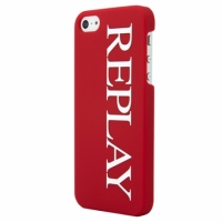 Клип-кейс Replay Logo для iPhone 5/5S красный