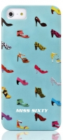 Чехол клип-кейс Replay Miss Sixty Pop Art-Shoes (M3012-I5BLB) для iPhone 5/5S