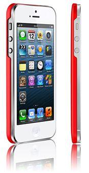 Чехол Araree half для iPhone 5 красный