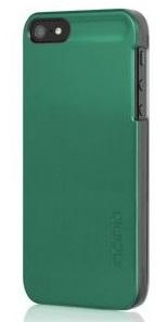 Чехол клип-кейс Incipio для iPhone 5/5S Feather Shine IPH-933 зеленый металик + пленка