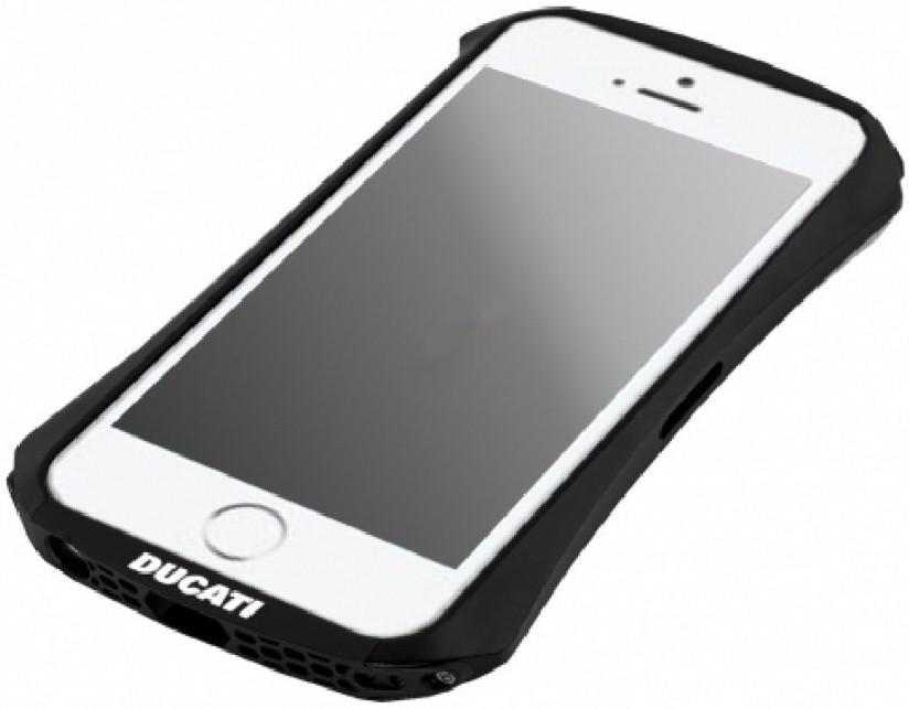 Бампер алюминиевый DUCATI Draco Ventare для Apple iPhone 5 / 5S черный