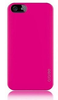 Чехол клип-кейс Araree Half для iPhone 5/5s розовый