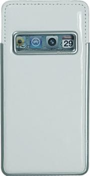 Вертикальный чехол с языком Pierre Cardin Vertical Phone Case (UKP34) для iPhone 5/5S белый