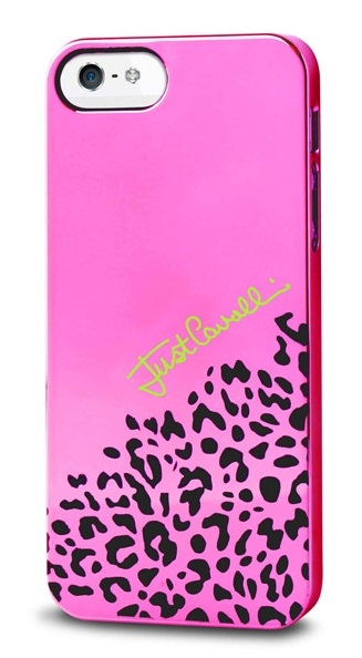 Клип-кейс PURO Just Cavalli Iridescent Cover для iPhone 5 розовый