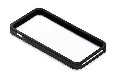 Бампер алюминиевый Just Mobile AluFrame Black для Apple iPhone 5/5S AF-188BK черный